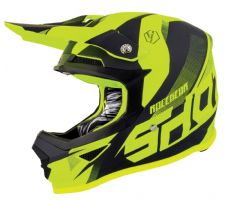 SHOT 2019 Ultimate Neon Yellow Matt Motocross Helmet